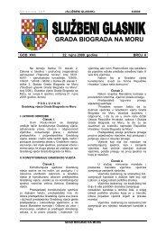 Poslovnik Gradskog vijeća Grada Biograda na Moru - Grad Biograd ...