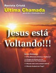 Maio de 2012.cdr - Revista Cristã Última Chamada.
