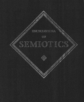 Encyclopedia of Semiotics - SemioticSigns.com