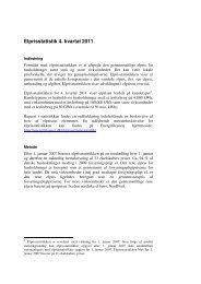 Elprisstatistik 4. kvartal 2011 - Energitilsynet