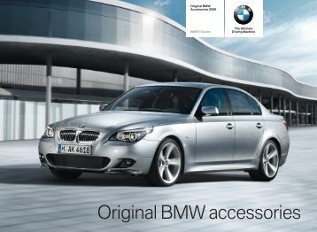 2009 BMW E60 Accessories Catalog - 5 Series