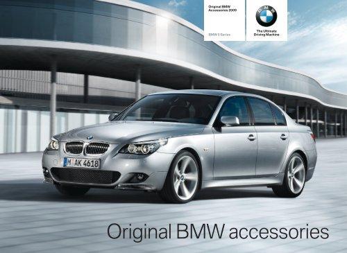 2009 BMW E60 Accessories Catalog - 5 Series
