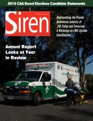 Annual Report Looks at Year in Review - California Ambulance ...
