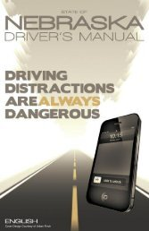 Driver's Manuals - Nebraska Official Department of Motor Vehicles ...