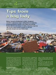 Tips From A bag Lady - Swiss News