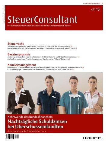 SteuerConsultant - Haufe.de