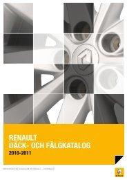 Renault däck och fälg katalog - Bra Bil