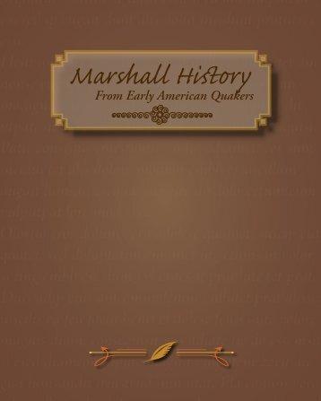 John Dick Marshall was - Nathan, Amy, Madison and Ethan Berga