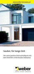 Sauber, für lange Zeit - Weber
