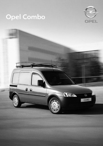 PL Combo Cargo 2007_05_11_tech - Opel Dixi-Car
