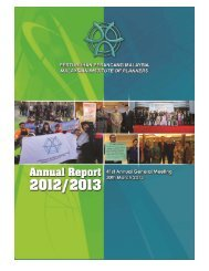 Annual Report 2012/2013 Malaysian Institute of Planners - 1 -