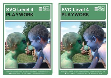 Playwork Level 4 flyers APRIL 11 - eduBuzz