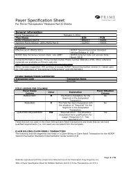 Horizon BCBS of New Jersey - Prime Therapeutics