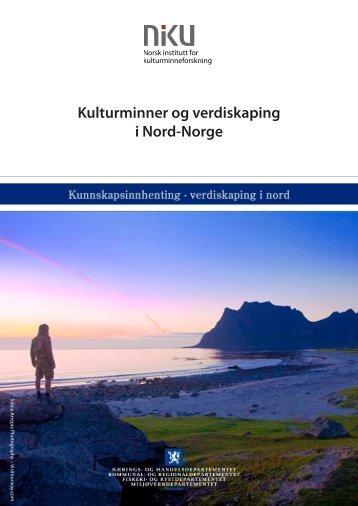 Kulturminner og verdiskaping i Nord-Norge - NIKU