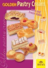 Golden pastry cream