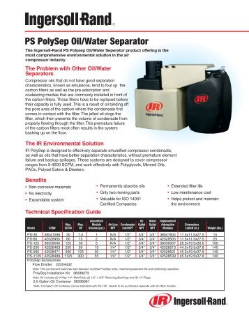 PS PolySep Oil/Water Separator