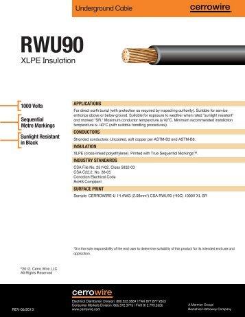 90 - Cerro Wire and Cable Company
