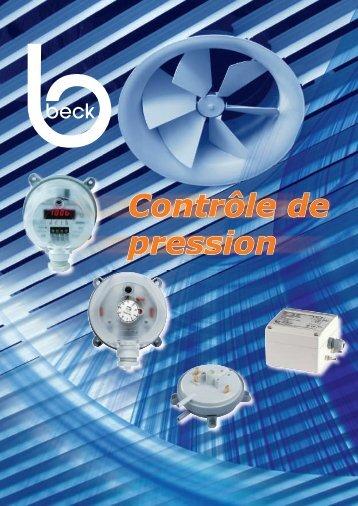 Controle de pression - CBM