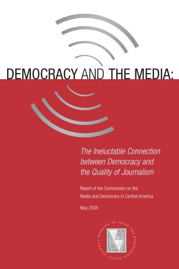 Democracy and the Media - Inter-American Dialogue