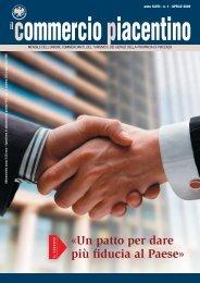 «Un patto per dare più fiducia al Paese» - Unione Commercianti di ...