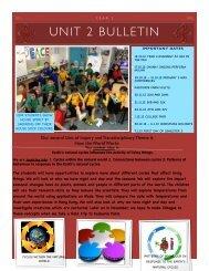 Year 2 Bulletin #2 - Renaissance College