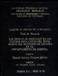 Manuel Antonio Vasquez Iglesias - UPNFM