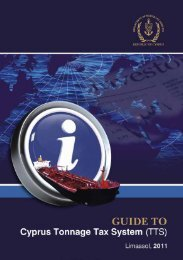 Guide to Cyprus Tonnage Tax System (TTS)