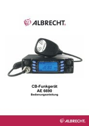 Cb-Funkgerät AE 6690 - Diesnerfunk