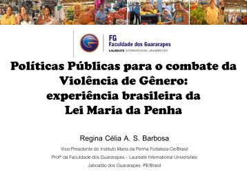 Sobre a Lei Maria da Penha - My Laureate
