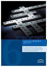 Verkaufsprospekt - MIRA GmbH & Co KG