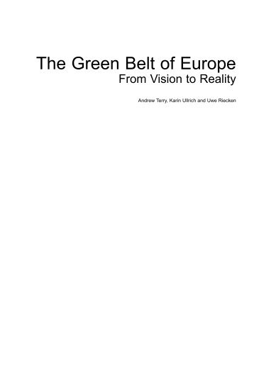 to see the contents and to read the forewords. - Baltic Green Belt