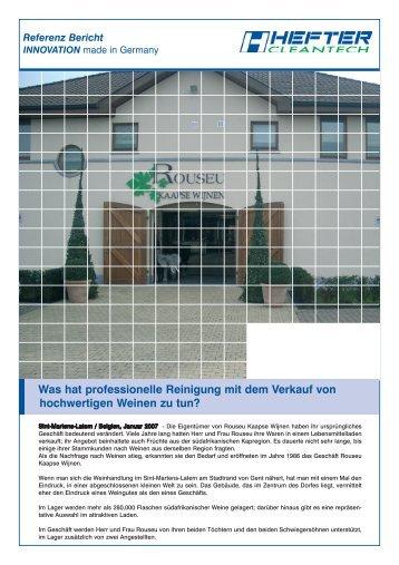 referenzbericht Rouseu_deutsch - Hefter Cleantech