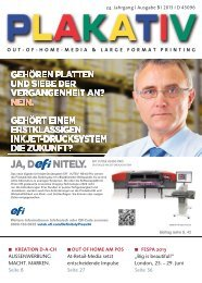 OUT-OF-HOME-MEDIA & LARGE FORMAT PRINTING ... - APG SGA