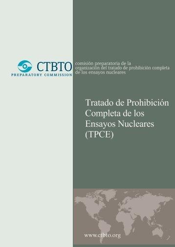 tratado de prohíbicíón completa de los ensayos nucleares