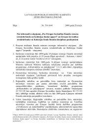 protokollēmums - ES fondi