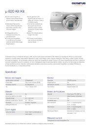 µ 820, Olympus, Compact Cameras