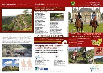 La Roche d'Oëtre - Clécy - Comité Régional d'équitation de ...
