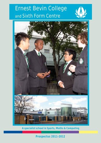 the sixth form - Ernest Bevin College