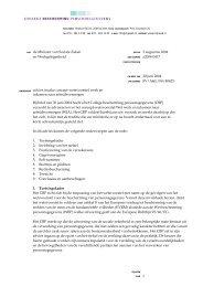 geadviseerd - College bescherming persoonsgegevens