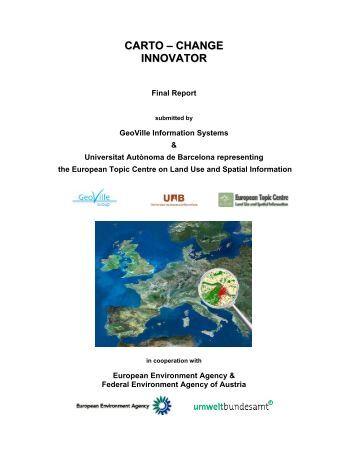 Final Report - Data User Element - ESA