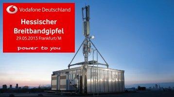 Vodafone Region Rhein-Main - Breitband in Hessen
