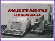 Polarografia - Università degli Studi di Bari