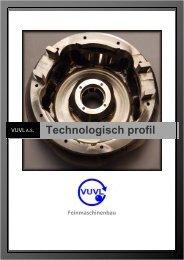 Technologisch profil - VUVL, a.s.