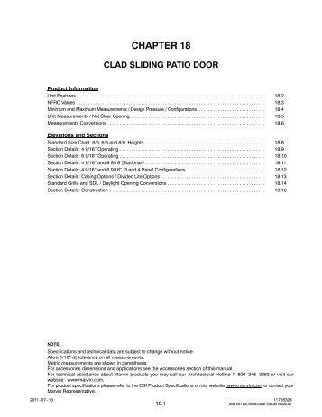 Clad Sliding Patio Door - Marvin Windows and Doors