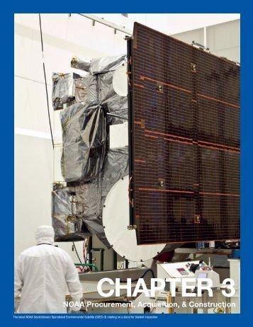 Chapter 3: NOAA Procurement, Acquisition and Construction