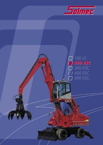 100 LS 200 ESC 300 ESC 400 ESC 500 ESC 200 ESC - Solmec