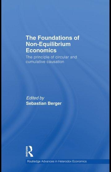 The Foundations of Non-Equilibrium Economics: The ... - Free