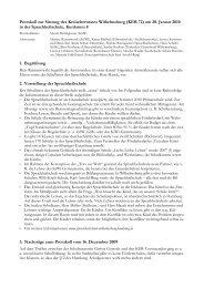 Protokoll zur Sitzung des Kreiselternrates Wilhelmsburg (KER 72 ...