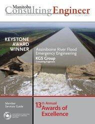 Awards of Excellence - ACEC|Manitoba