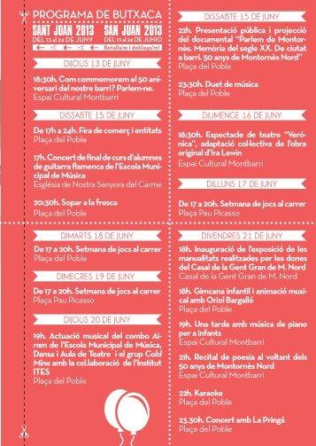 Sant Joan 2013 - Ajuntament de Montornès del Vallès